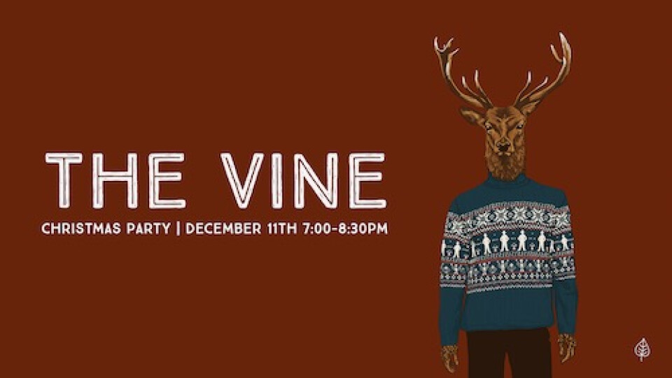 The Vine Christmas Party 2019