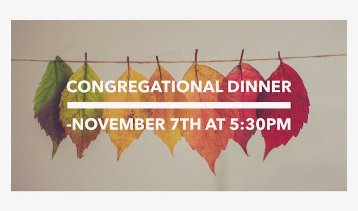 Congregational Dinner and Silent Auction